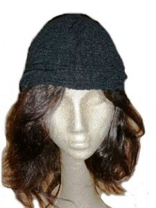 Bubble Stretch Silk Skull Cap