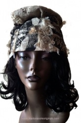 Handcrafted Mixed Media Dignity Headwear1