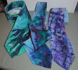 Handcrafted one-of-a Kind Slik Neckties and Accessories for Men